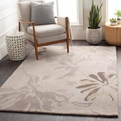 Amaranthus Gray 2 ft. x 4 ft. Hearth Indoor Area Rug