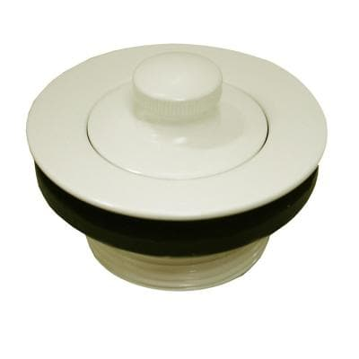 1-1/2 in. Lift and Turn Bath Tub Drain with 1-7/8 in. O.D. Coarse Threads, Biscuit