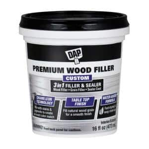 Premium Wood Filler 16 oz. White