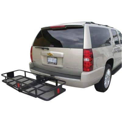 500 lb. Capacity 60 in. x 20 in. Steel Hitch Cargo Carrier for 2 in. Receiver