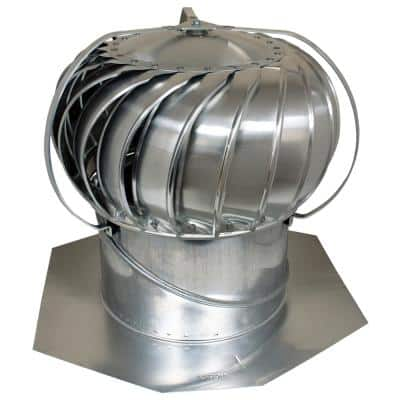 12 in. Mill Aluminum Externally Braced Wind Turbine