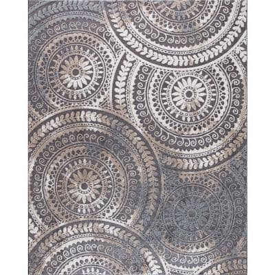 Stain Resistant 8 X 11 Area Rugs Rugs The Home Depot