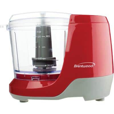 Red Mini Food Slicer/Chopper
