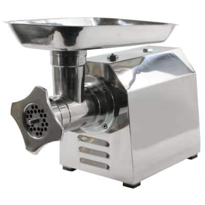 Commercial Grade 250 W Stainless Steel Electric Meat Grinder with Grind Blade Replacement