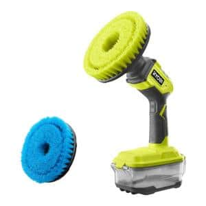 ONE+ 18V Power Scrubber with 6 in. Soft Bristle Brush Accessory