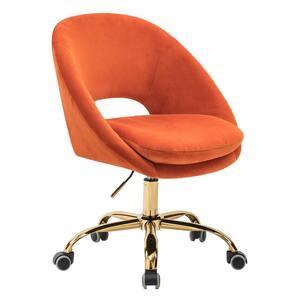 Savas Orange Swivel Task Chair