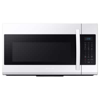 30 in. 1.9 cu. ft. Over-the-Range Microwave in White