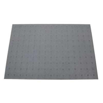 2 ft. x 3 ft. Dark Gray Detectable Warning Tile
