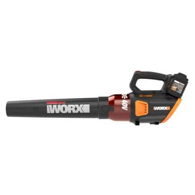 POWER SHARE 40-Volt 430 CFM 90 MPH Leaf Blower with Brushless Motor