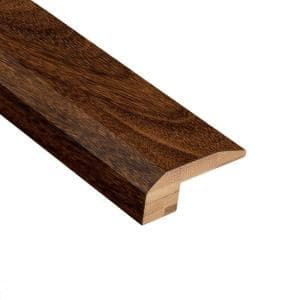 Strand Woven IPE 3/8 in. Thick x 2-1/8 in. Wide x 78 in. Length Exotic Bamboo Carpet Reducer Molding