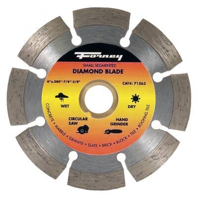4 in. Segmented Diamond Cut-Off Blade