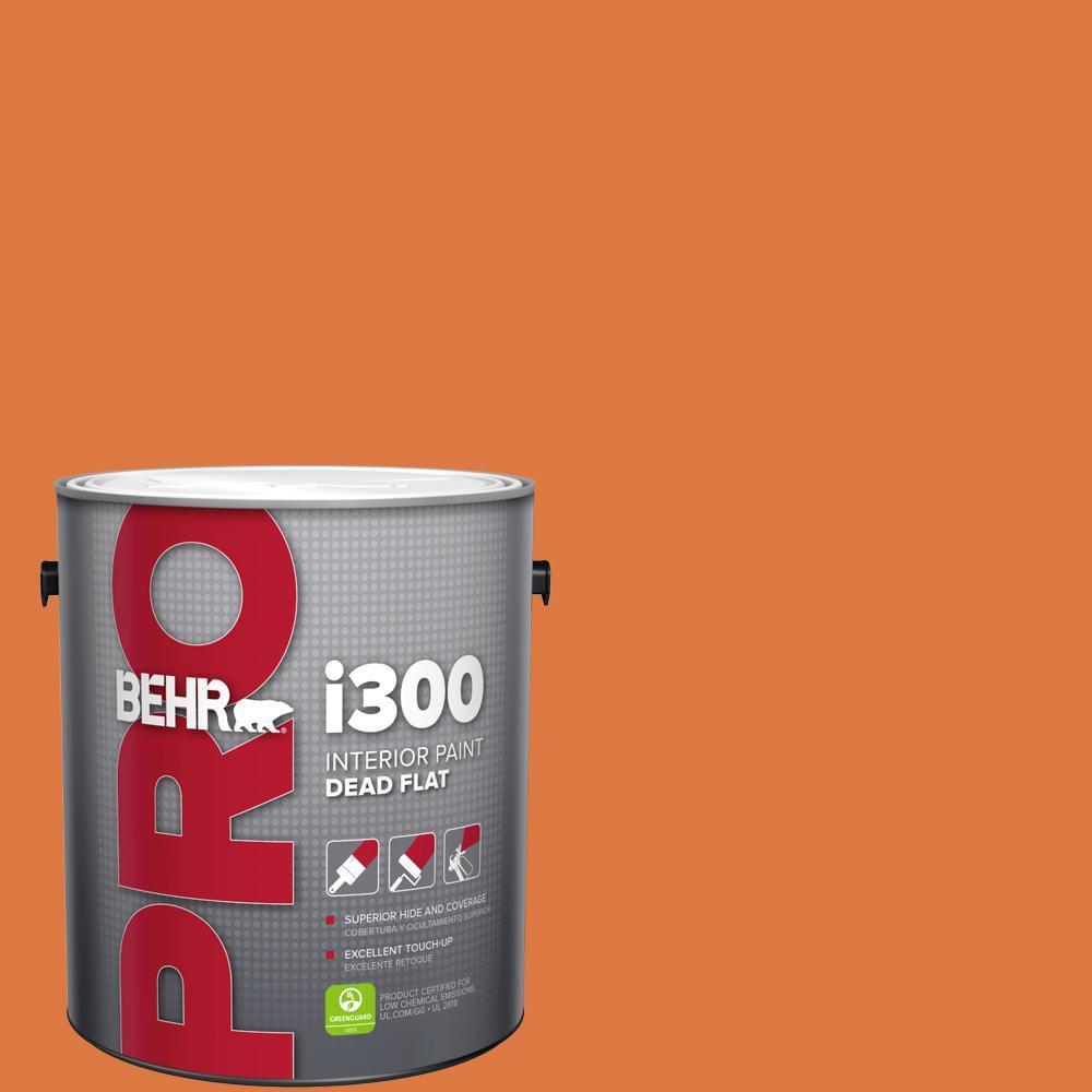 Behr Premium Plus 1 Gal P210 7 Japanese Koi Flat Exterior Paint And Primer In