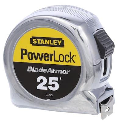 PowerLock 25 ft. x 1 in. Tape Measure with Blade Armor Coating