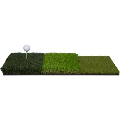 25 in. Tri-Turf Portable Golf Hitting Mat