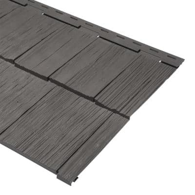 9 x 24 in. Shadow Polypropylene Take Home Sample Cedar Dimensions Hand Split Siding