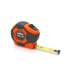 P1000 Series 3/4 in. x 12-ft. Hi-Viz Orange Yellow Clad A2-Blade Power Return Tape Measure