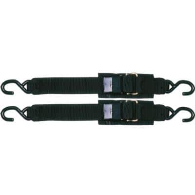 Sta-Put 4 ft. Transom Tie Down With Quick Release Buckle (2-Pack)