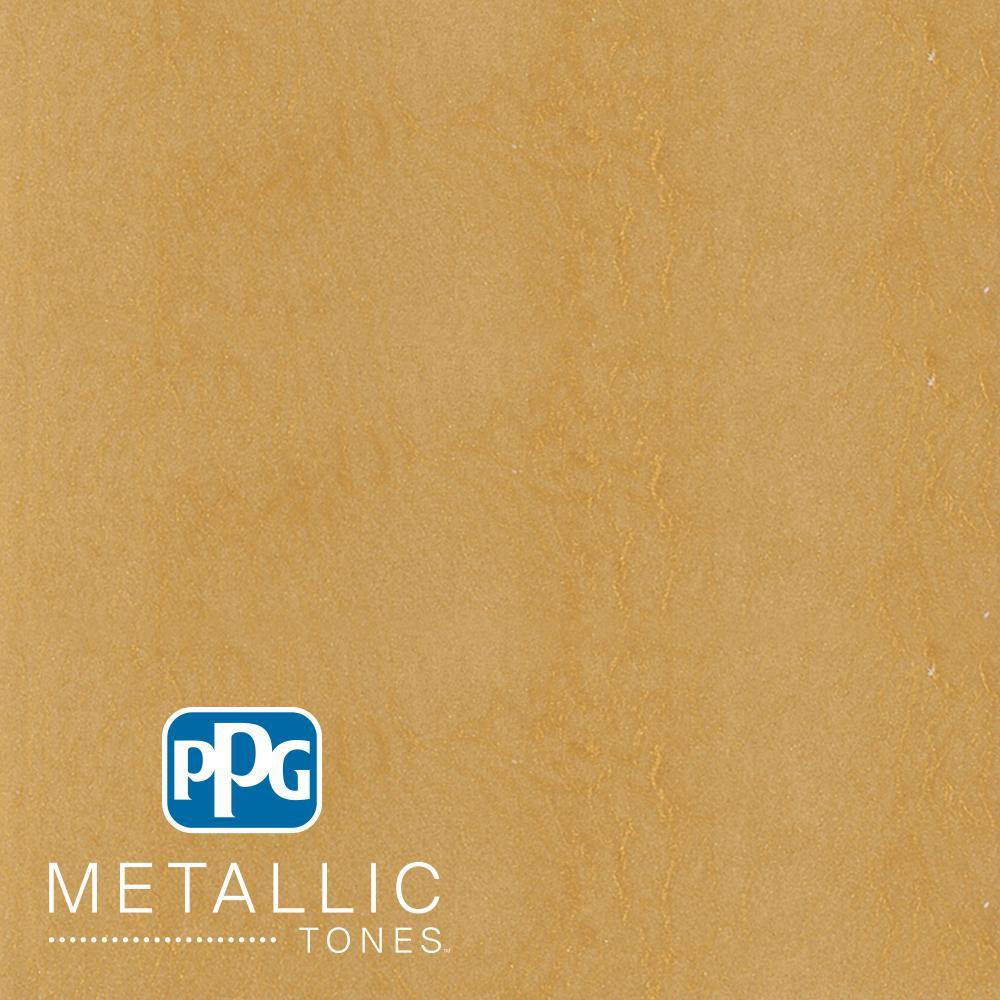 1  gal. #MTL138 Golden Saffron Metallic Interior Specialty Finish Paint