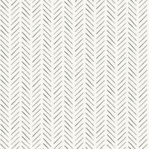 Pick-Up Sticks Black Paper Peel & Stick Repositionable Wallpaper Roll (Covers 34 Sq. Ft.)