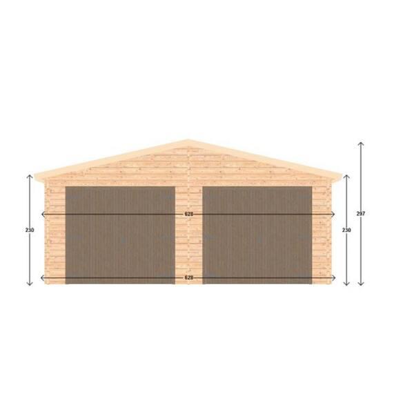 Hud 1 Ez Buildings 19 5 Ft X, Wood Floor Garage