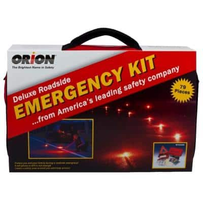 Deluxe Roadside Emergency Kit