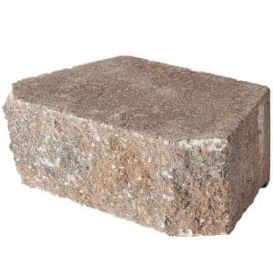 4 in. x 11.75 in. x 6.75 in. Rock Blend Concrete Retaining Wall Block (144 Pcs. / 46.5 Face ft. / Pallet)