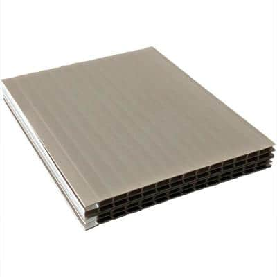 2.5 in. W x 3.375 in. L Gray Standard Weep Vents (200-Piece Box)