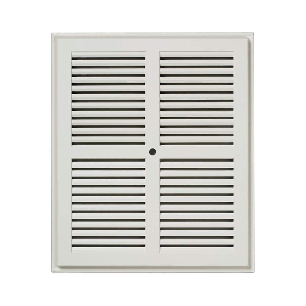 10-10/16 in. x 8-15/15 in. Replacement Grille in White