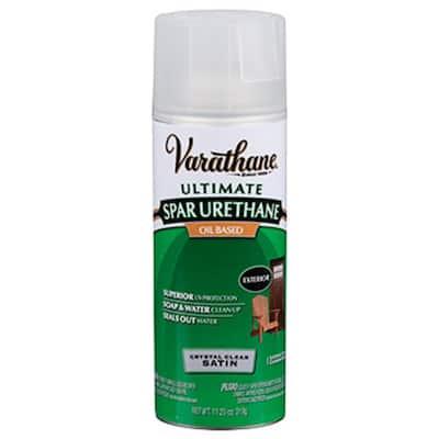 11 oz. Clear Satin Oil-Based Spar Urethane Spray