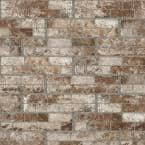 White Washed Brick 6 in. x 24 in. Porcelain Floor and Wall Tile (14 sq. ft./Case)
