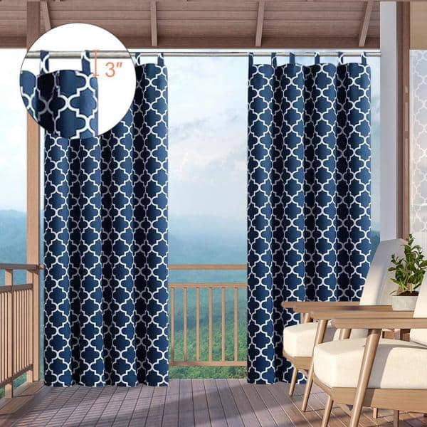 Pro Space 50 X 63 Outdoor Curtain, Outdoor Waterproof Curtains Patio