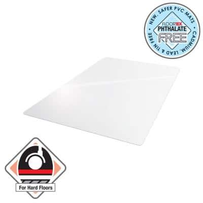 Vinyl Rectangular Chair Mat for Hard Floor - 30 in. x 48 in.