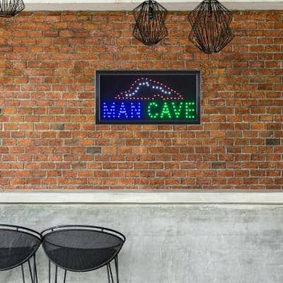Neon LED Man Cave Sign with Animation