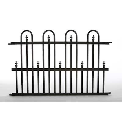 Garden Perimeter 2 ft. H x 3 ft. W Aluminum Fence Panel