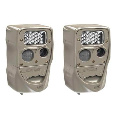 Power House 20 MP Super Simple Setup Silver Flash Trail Camera (2-Pack)