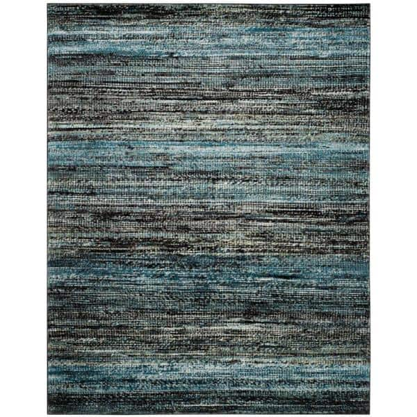 Safavieh Porcello Charcoal Blue 8 Ft X 10 Area Rug Prl6943g The Home Depot