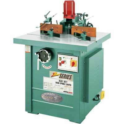 7-1/2 HP Spindle Shaper 3-Phase
