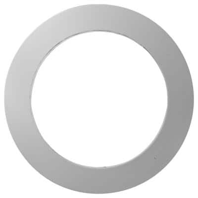 2 in. x 18-1/4 in. x 18-1/4 in. Trim for Round Louver Vent