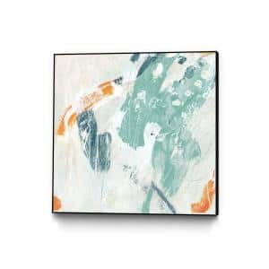 30 in. x 30 in. ''Current Synergy I'' by June Erica Vess Framed Wall Art
