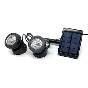2-Lights Solar Submersible LED Kit