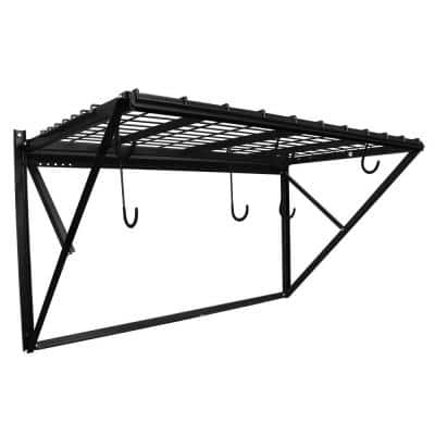 ProRack Black Metal 4 ft. Storage Rack