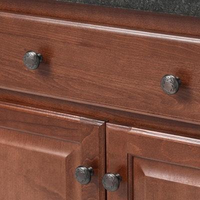 Nature's Splendor 1-5/16 in. (33 mm) Dia Oil-Rubbed Bronze Cabinet Knob