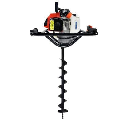63 cc V-Type 1-Man 2-Stroke Gas Post Hole Digger Auger Powerhead (Digger Engine), EPA Certified