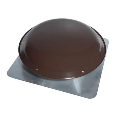 1000 CFM Power Steel Roof Attic Ventilator in Dark Brown
