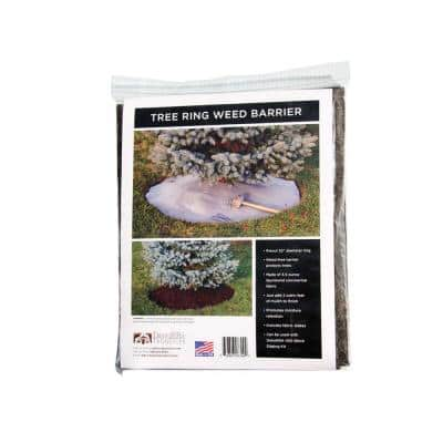3.5 oz. Spunbound Weed Barrier Tree Ring Fabric