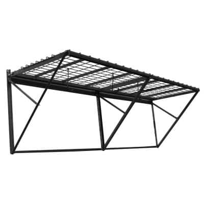 ProRack Black Metal 8 ft. Storage Rack