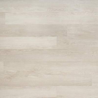 Duren 28mil Washed Oak 6 in. x 48 in. Glue Down Luxury Vinyl Tile Flooring (36 sq. ft.)