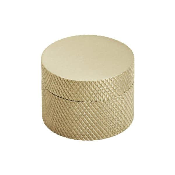 Amerock Transcendent 1 1 4 In Dia 32 Mm Matte Gold Cabinet Knob Bp196732mgmg The Home Depot