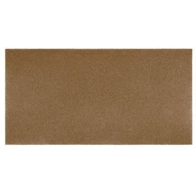 Recycled Rugged All-Weather Textile 4 ft. x 6 ft. Beige Entry and Garage Mat