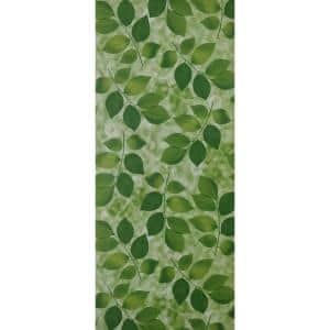 Leaves Green Vinyl Strippable Roll (Covers 26.6 sq. ft.)